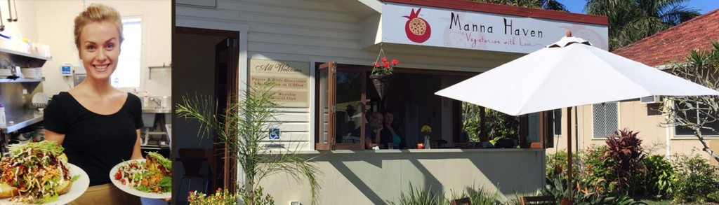 Manna Haven Cafe Restaurant Byron Bay
