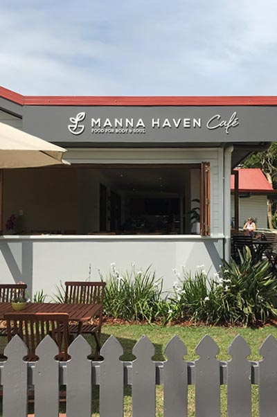 Manna Haven Cafe Front